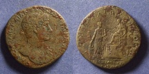 Ancient Coins - Roman Empire, Hadrian 117-138, Sestertius