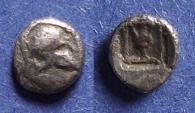 Ancient Coins - Asia Minor, Uncertain city Circa 450 BC, Obol