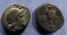 Ancient Coins - Aeolis, Myrina Circa 300 BC, AE15