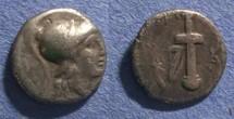 Ancient Coins - Caria, Kaunos 166-150 BC, Hemidrachm