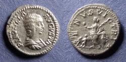 Ancient Coins - Roman Empire, Plautilla 202-5, Denarius