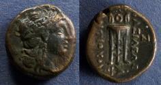 Ancient Coins - Seleucid Kingdom, Antiochos II 261-246 BC, AE17