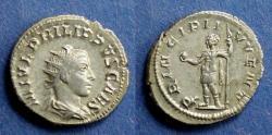 Ancient Coins - Roman Empire, Philip II (Caesar) 244-247, Antoninianus