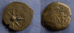 Ancient Coins - Judaea, Alexander Jannaeus 104-76 BC, Prutah