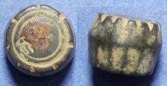 World Coins - Islamic, Weight 7th-12th Centuries AD, Bronze 20 Dirhem weight