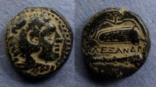 Ancient Coins - Macedonian Kingdom, Alexander III 336-323 BC, AE16