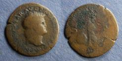Ancient Coins - Roman Empire, Nero 54-68, Aes