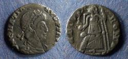 Ancient Coins - Roman Empire, Gratian 367-383, Siliqua