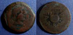 Ancient Coins - Spain, Carbula Circa 150 BC, AE35