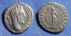 Ancient Coins - Roman Empire, Commodus 177-192, Silver Denarius