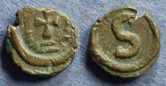 Ancient Coins - Byzantine Emipre, Heraclius 610-641, 6 Nummi