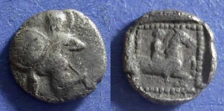 Ancient Coins - Methymna, Lesbos Circa 450 BC, Hemidrachm