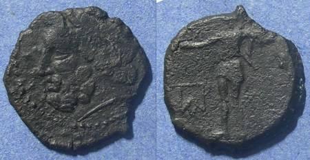 Ancient Coins - Panormos, Sicily Circa 100 BC, AE20