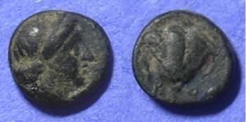 Ancient Coins - Rhodes - AE11 Circa 320 BC