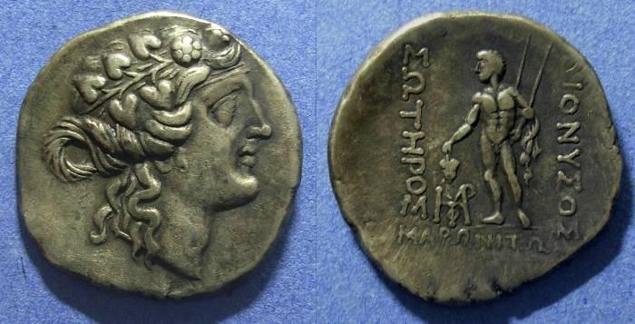 Ancient Coins - Maroneia, Thrace 189-49 BC, Tetradrachm