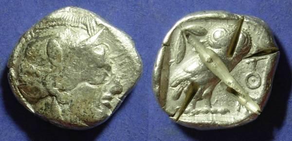 Ancient Coins - Athens Attica 449-413 BC Tetradrachm
