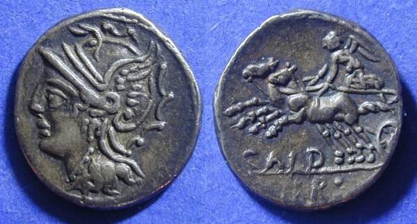 Ancient Coins - Roman Republic - Denarius 104 BC Coelia 3
