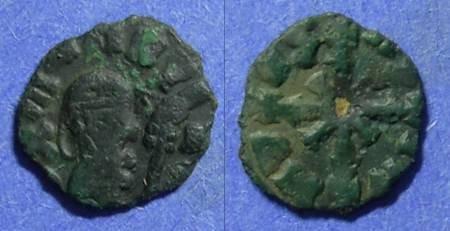 Ancient Coins - Axum  Wazena Circa 525-550 AE13
