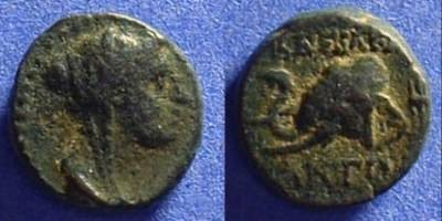 Ancient Coins - Seleucid Kingdom - Antiochos IV 175-164 BC AE-14
