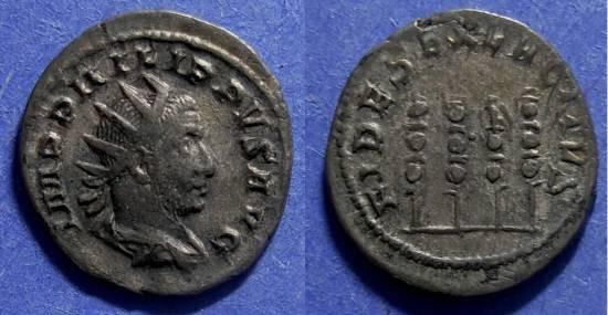 Ancient Coins - Roman Empire, Philip 244-9, Antoninianus