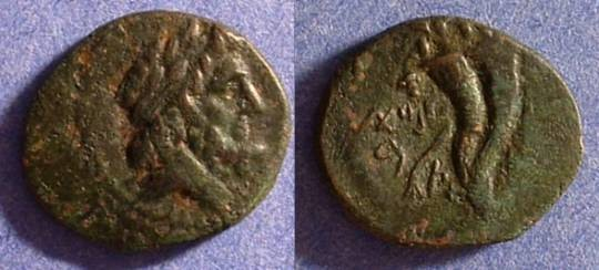 Ancient Coins - Marathos Phoenicia AE21 2nd Century BC