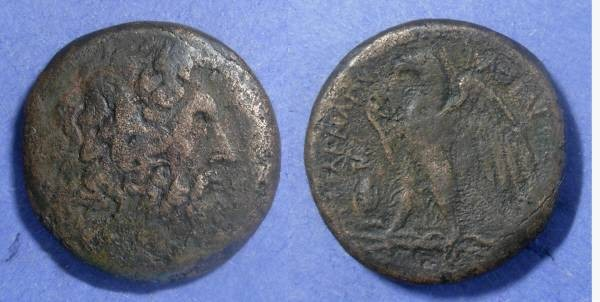 Ancient Coins - Egypt, Ptolemy II 285-246, AE28