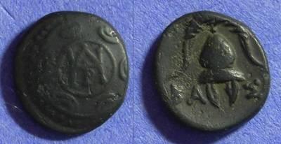 Ancient Coins - Macedonian Kingdom – Demetrios Poliorketes 294-288BC