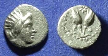 Ancient Coins - Rhodes,  Circa 250 BC, Diobol