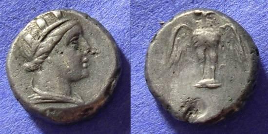 Ancient Coins - Amisos Pontos - Drachm Circa 300 BC