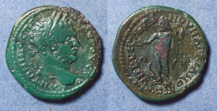 Ancient Coins - Roman Marcianopolis, Caracalla 198-217, 5 Assaria