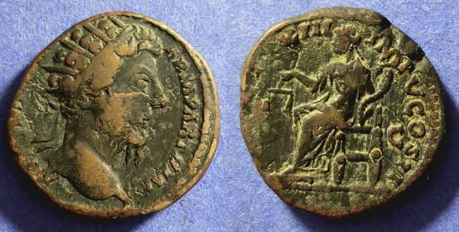 Ancient Coins - Marcus Aurelius 161-180 Dupondus