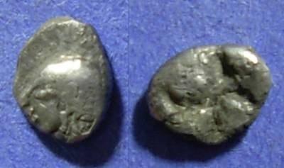 Ancient Coins - Colophon, Ionia Circa 500 BC, Hemiobol