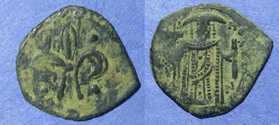 Ancient Coins - Byzantine Empire, Theodore II 1254-8, Tetarteron