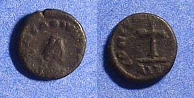 Ancient Coins - Arcadius 383-408 - AE-4 with cross reverse