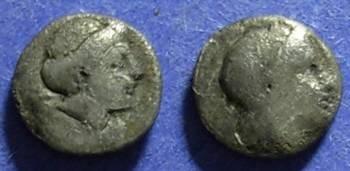 Ancient Coins - Mytilene, Lesbos 350 BC, Diobol