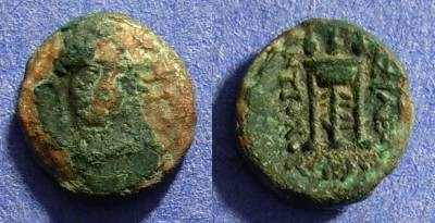 Ancient Coins - Seleucid Kingdom - Antiochos II 261-246BC AE-11
