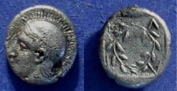 Ancient Coins - Elaia, Aiolis Circa 400 BC, Diobol