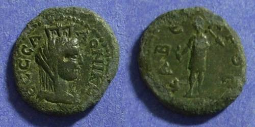 Ancient Coins - Thessalonica Macedonia – Circa 70AD AE17