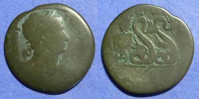Ancient Coins - Roman Egypt – Trajan 98-117AD – Drachm