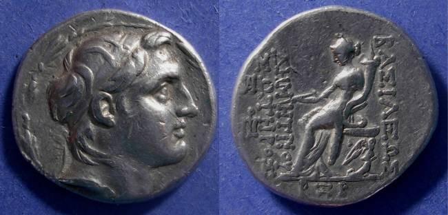 Ancient Coins - Seleucid Kingdom, Demetrios 162-150 BC, Tetradrachm
