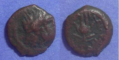 Ancient Coins - Egypt, Ptolemy X 116-101 BC, AE13