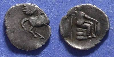 Ancient Coins - Thessaly?,  Circa 300 BC, Hemidrachm