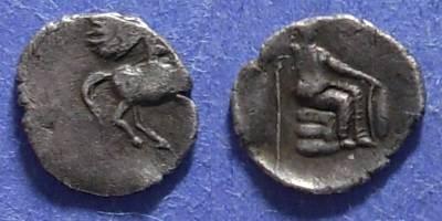 Ancient Coins - Thessaly?,  Circa 300 BC, Hemidrachm