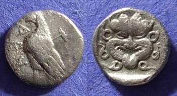 Ancient Coins - Abydos Troas  obol circa 450BC