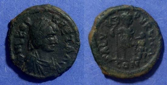 Ancient Coins - Roman Empire, Leo 457-474 AD, AE2