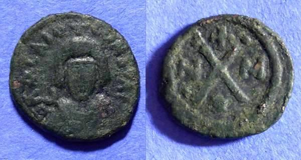 Ancient Coins - Byzantine Empire - Revolt of the Heraclii 608-610 Carthage Decanummium