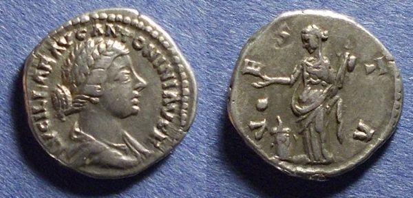 Ancient Coins - Roman Empire, Lucilla 164-182, Denarius