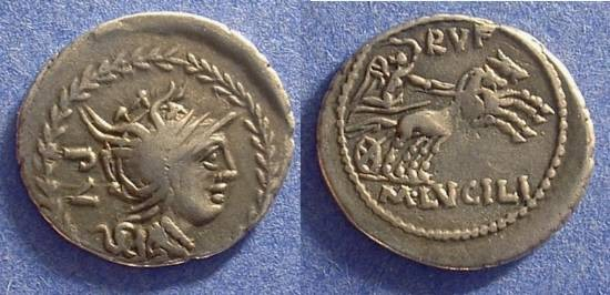 Ancient Coins - Roman Republic - Lucilia 1 101 BC