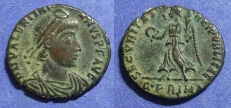 Ancient Coins - Roman Empire, Valentinian 364-375, AE3