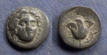 Ancient Coins - Islands off Caria, Rhodes 205-190 BC, Hemidrachm
